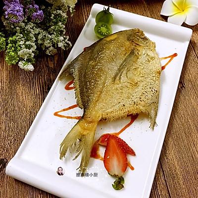 柠香煎金鲳鱼