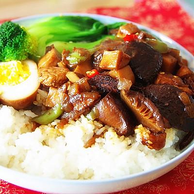 低热量--鸡胸卤肉饭