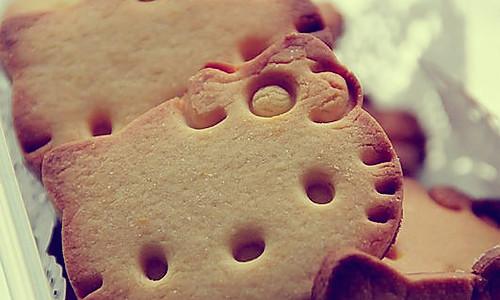 Hello Kitty饼干的做法