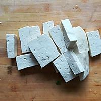 香菇油菜炒豆腐#花10分钟,做一道菜!#的做法图解3