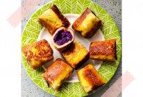 吐司紫薯鸡蛋卷的做法