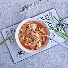 #洗手作羹汤#韩式泡菜豆腐汤|又辣又鲜美