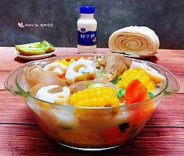 #好吃不上火#猪蹄莲藕玉米胡萝卜汤的做法