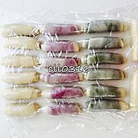 紫薯 抹茶 原味(豆沙酥)玉米油版的做法图解9