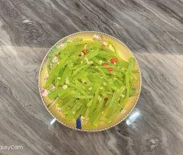 清炒莴笋丝的做法