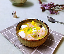 营养好吃的虾滑豆腐汤的做法