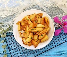 蚝油炒猪肠粉#快手又营养,我家的冬日必备菜品#的做法
