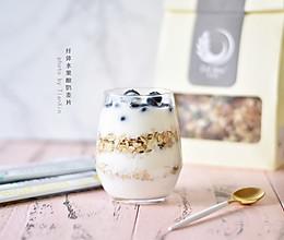 纤体水果酸奶麦片——简单健康早餐的做法