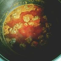 圆子番茄米线的做法图解6