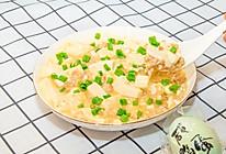 金沙豆腐,不用盐糖酱醋,一颗咸鸭蛋就够的做法