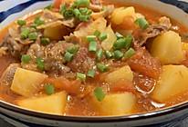 番茄肥牛土豆的做法