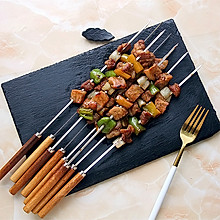 五彩蔬菜肉串
