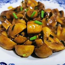 素炒白蘑菇