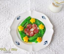 #豆果10周年生日快乐#减脂荷兰豆腊肠的做法