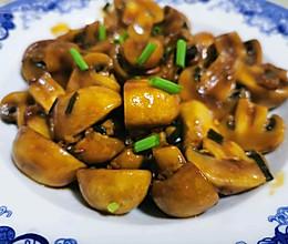 素炒白蘑菇的做法