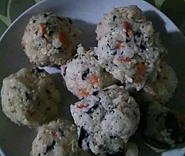 金枪鱼紫菜拌饭的做法