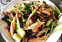 比饭馆还好吃的凉拌腐竹木耳黄瓜的做法