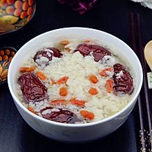 红枣枸杞煮甜米酒#月子餐吃出第二春#