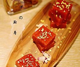 酸甜可口零添加的桂花山楂糕#中秋宴,名厨味#的做法