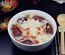红枣枸杞煮甜米酒#月子餐吃出第二春#的做法