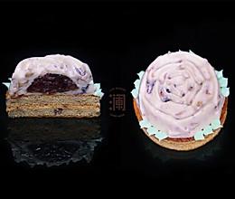 玫瑰鲜花夹心组合慕斯蛋糕,绝对值得,一试难忘的做法