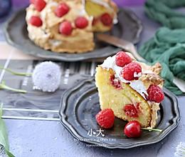 树莓蛋糕的做法