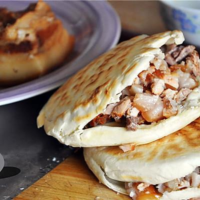 西安腊汁肉夹馍【利仁电饼铛试用】