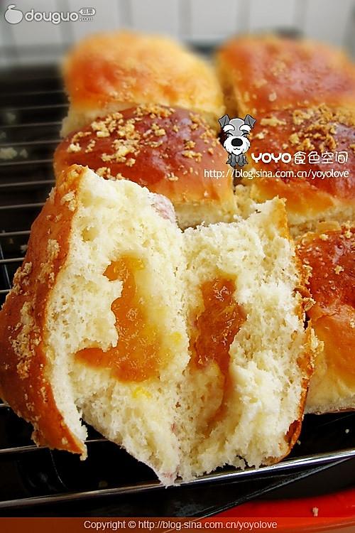 奶油乳酪夹馅面包DIY的做法