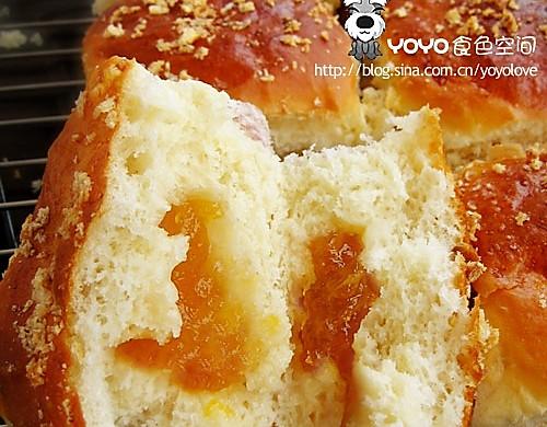 奶油乳酪夹馅面包DIY