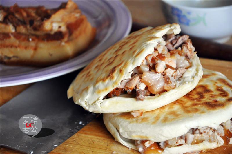 西安腊汁肉夹馍_西安腊汁肉夹馍【利仁电饼铛试用】的做法_菜谱_豆果美食