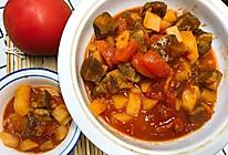 番茄土豆烧牛肉的做法
