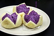 紫薯开花馒头的做法