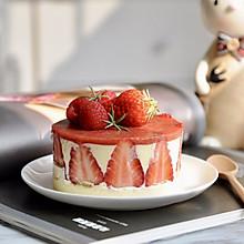 白巧克力草莓慕斯#春季食材大比拼#
