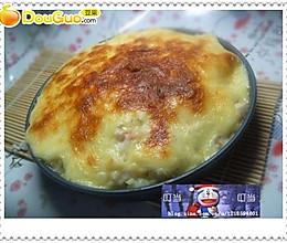 六一美食:芝士虾仁薯泥的做法