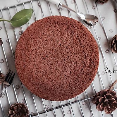巧克力戚风蛋糕-6寸-颜值爆表的巧克力戚风