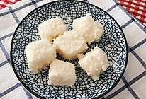 夏日清凉甜品-椰蓉奶冻的做法