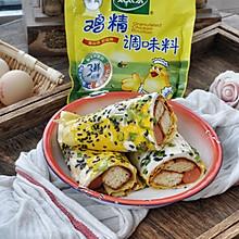 美味小吃-早餐鸡蛋灌饼