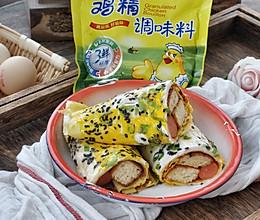 美味小吃-早餐鸡蛋灌饼的做法