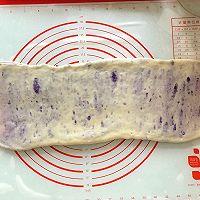 手撕紫薯吐司(一次发酵无需出膜)的做法图解10