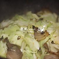 腊肉炒包菜#无腊味,不新年#的做法图解7
