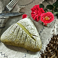 抹茶奶酪软欧面包#樱花味道#的做法图解12