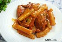 螃蟹辣炒年糕#宴客拿手菜#的做法