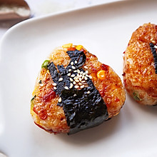 #餐桌上的春日限定#日式烤饭团