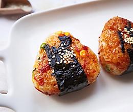 #餐桌上的春日限定#日式烤饭团的做法