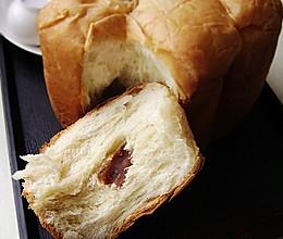 红豆餐包的做法
