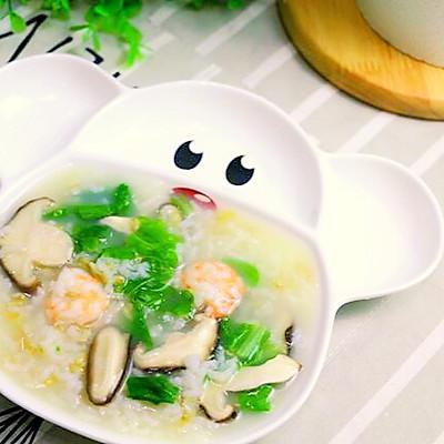 香菇白菜粥
