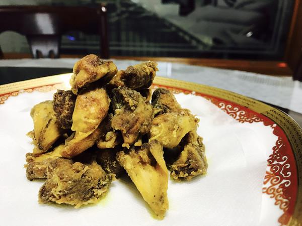 油炸猴头菇的做法