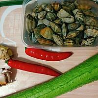 丝瓜焗花蛤#父亲节,给老爸做道菜#的做法图解1