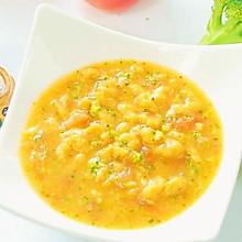 胡萝卜莲藕排骨面线 宝宝辅食,西兰花+番茄