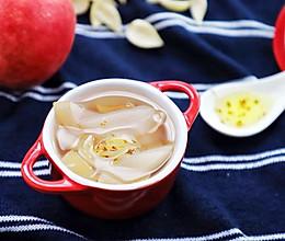 水蜜桃百合甜汤:清热润肺,改善便秘,新手必备#雀巢营养早餐#的做法
